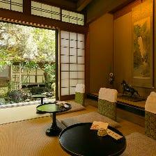 五感に響く、京風情に満ちた和空間
