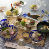 季節の会席料理もご用意しております。夜の会席は9,000円(税抜)より、ご希望のご予算でお受けします