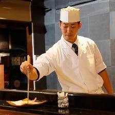 厳選した旬食材を贅沢に使用した和食