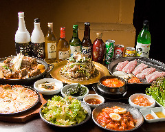 韓国家庭料理 イモチャン