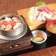 お食事メニューも充実!釜飯(6種)と刺身セット1580円