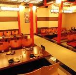 8名様~最大宴会70名様までご利用可能な広間の宴会場。
