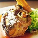 本日鮮魚のあら煮
