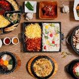 本格韓国料理を満喫するならbibim'に決まり♪石鍋などの韓国料理食べ放題が人気です!