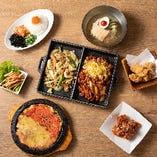 多彩な韓国料理を味わえます☆辛くないメニューもございますのでお子様連れの方もどうぞ!