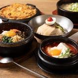 スンドゥブ、ビビムパ、焼き立てのチヂミもどれも本場の味わい☆韓国旅行気分を満喫してください!