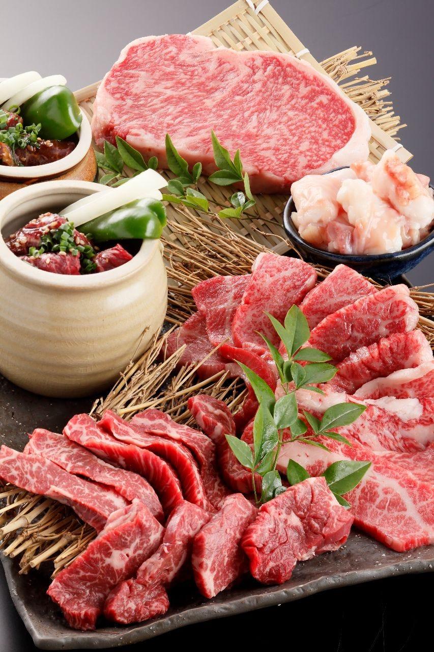 藤彩牛を贅沢に焼肉で♪