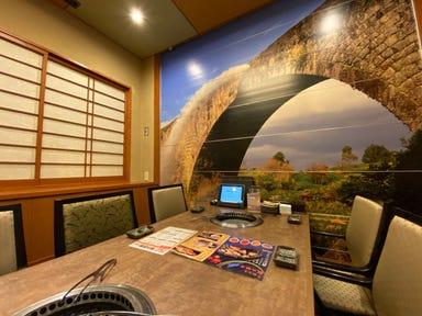 牧場直営 焼肉ふじの蔵  店内の画像