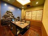 名物!熊本城の個室【4~6名様】
