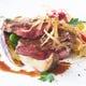 国産牛フィレ肉のステーキ 赤ワインソース