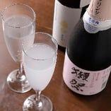 獺祭をはじめ賞を受賞した珍しい日本酒なども随時仕入れています