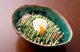 人気NO.1!半熟玉子とねぎたっぷり!たこ焼にとろり半玉と葱が◎