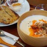 【豆乳スープのセット】湯河原十二庵の豆乳スープ(辛口)