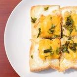 【トーストのセット】ツナとおからのトースト