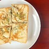 【トーストのセット】うの花 ピザトースト