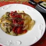 冷製 炭焼き野菜のサラダ仕立て