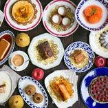 スペインの家庭の味!本場のデザートも多数ご用意しています。