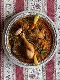 鶏肉とアサリのパエリア バレンシア風