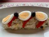 ロシア風ポテトサラダ