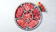 【赤】のお肉盛り合わせ <2~3名様にオススメ>