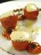 焼きトマトとカマンベールチーズ