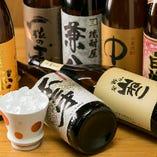 《お飲み物》 日本酒はもちろん、ワインや焼酎も多数ご用意