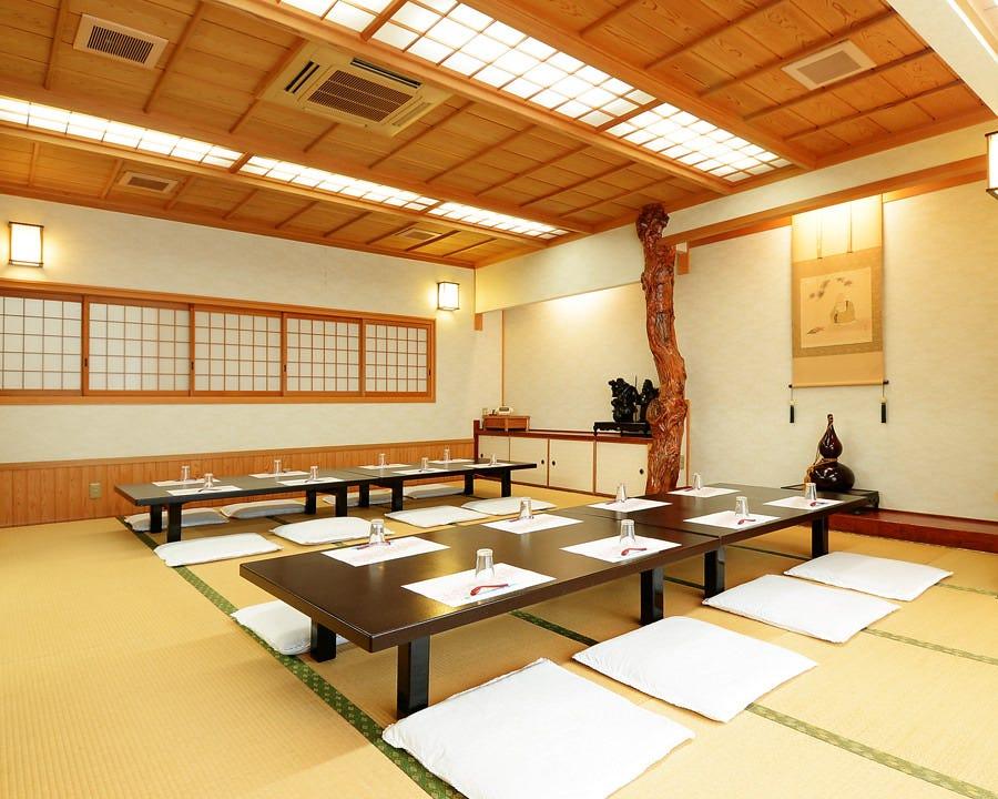 大人数を収容できる和室のお座敷