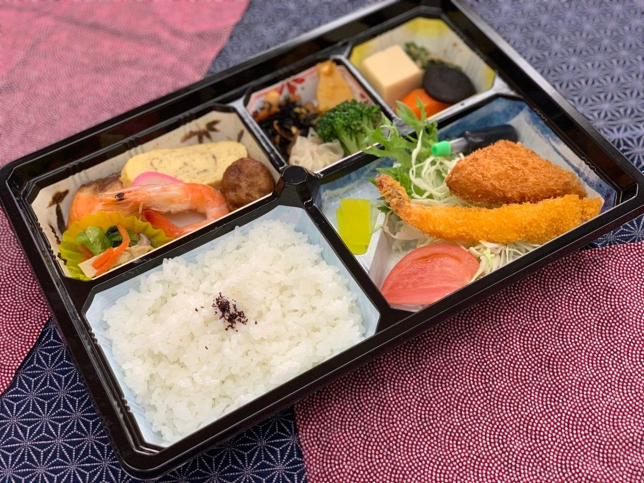 老舗日本料理のお値打ちなお弁当