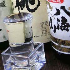 厳選日本酒と京料理