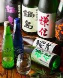 ドリンクの種類は豊富です。特に季節の日本酒に力を入れてます!