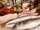 毎日仕入れる鮮度の良い魚介たち