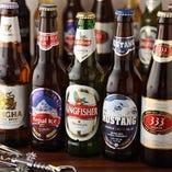 世界のビールをたのしめる!