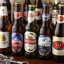 世界各国のビールを飲み比べ♪