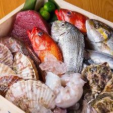 味わい豊かな旬の鮮魚が旨い!