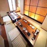 10名様個室×2室あり!接待・会食など「外せない」ご宴会に最適な個室