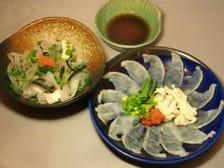 神奈川県でふぐ包丁師第1号の料理店