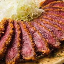 肉の旨味凝縮!ミディアムレアで提供