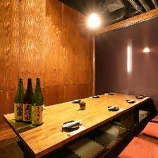 仙台駅近の好立地に佇む個室居酒屋