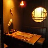 テーブル個室 (2~4名様)