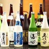 新潟の希少な地酒や季節限定の地酒を豊富にご用意しております