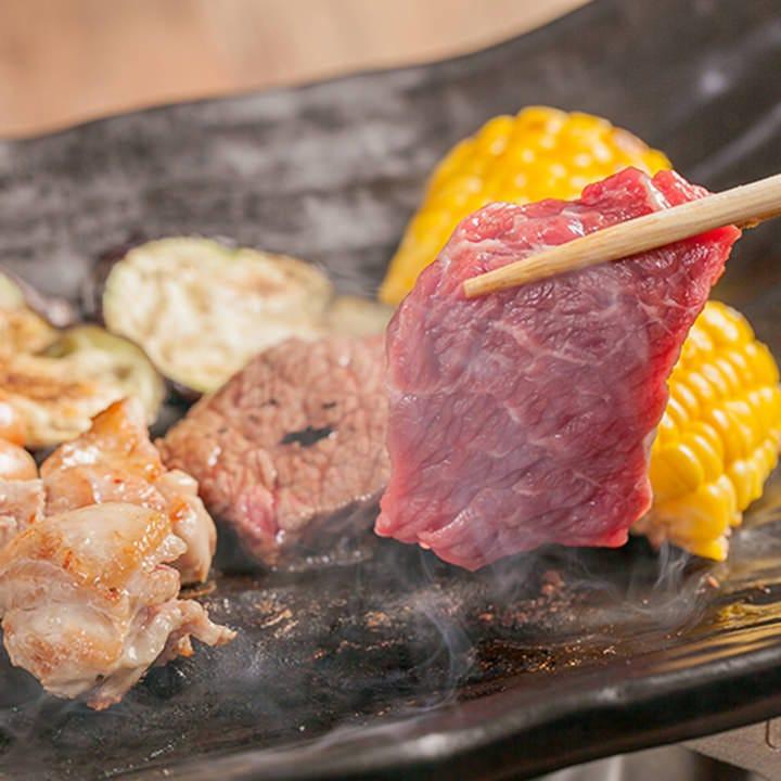 厳選肉と旬の魚介をあらゆる味わいで