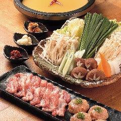 頓珍館鍋(味噌ちゃんこ風)