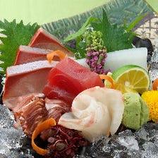 鮮度抜群!旬の魚介を楽しむ【お造り・鯛めしコース】宴会 飲み会 同窓会 パーティー