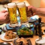 [飲み会] 飲み放題付で名物も入ったコスパ◎な飲み会コースご用意