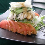 蒸鶏のサラダ~バンバンジー風~