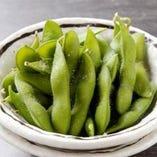 まずは…枝豆