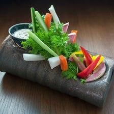 棒々野菜 ~鹿味噌ディップ~