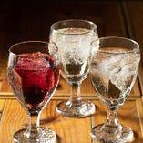 【ドリンク】 当店のお料理と相性抜群のプライベートワイン◎