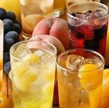 果実酒サワーまたはロック