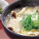 ★久米島味噌のきのこ入り ピリ辛雑炊★